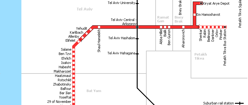Tel Aviv – Light Train