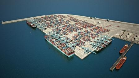 "Israel new Seaport Terminal – ""Bay Port"""